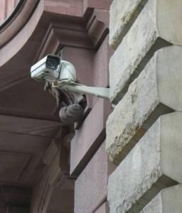 Kamera der Deutschen Bank
