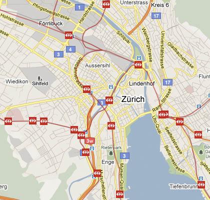 Screenshot Swisstrains-Website